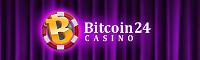 Bitcoin Casino 24  Logo