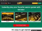 mBit Casino Screenshots 1