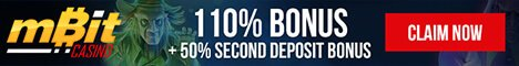 110% Bonus plus 10% Second Deposit Bonus from Mbit
