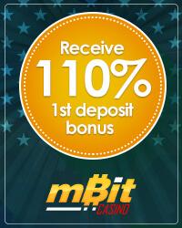 Receive 110% 1st Deposit Bonus